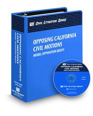 Opposing California Civil Motions