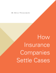How Insurance Companies Settle Cases