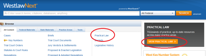 practicallaw_homepage