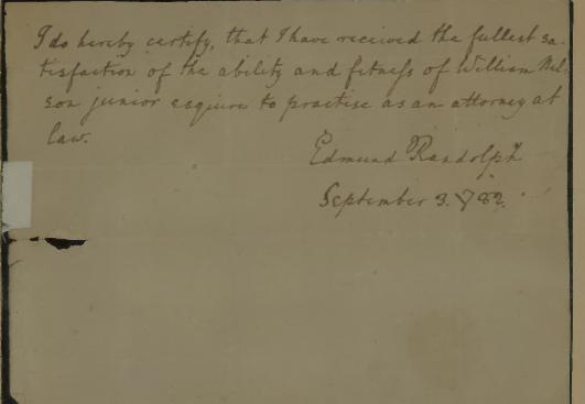 edmund_randolph_signature_clerkship_william_nelson_junior_1782