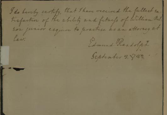 edmund_randolph_signature_clerkship_william_nelson_junior_1782